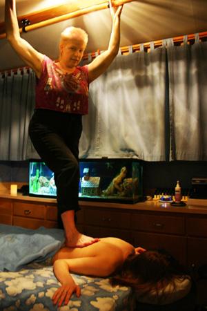 Barefoot Massage Milwaukee